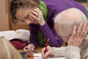 Rosana Jacks Teira tutoring student