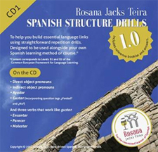 CD cover: Spanish Structure Drills 1